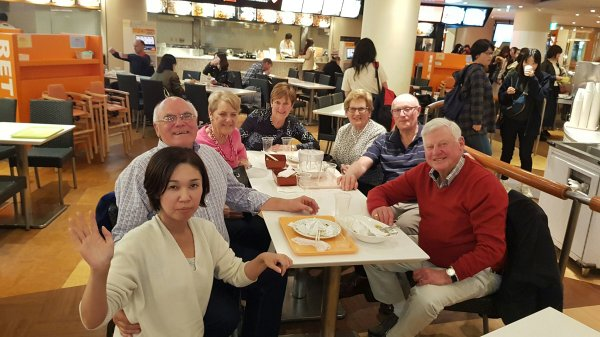Dinner with Huntingdale GC friends