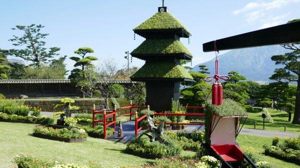Sengan-en Japanese Gardens in Kagoshima