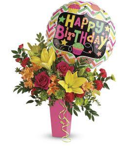 birthday flowers by jackman