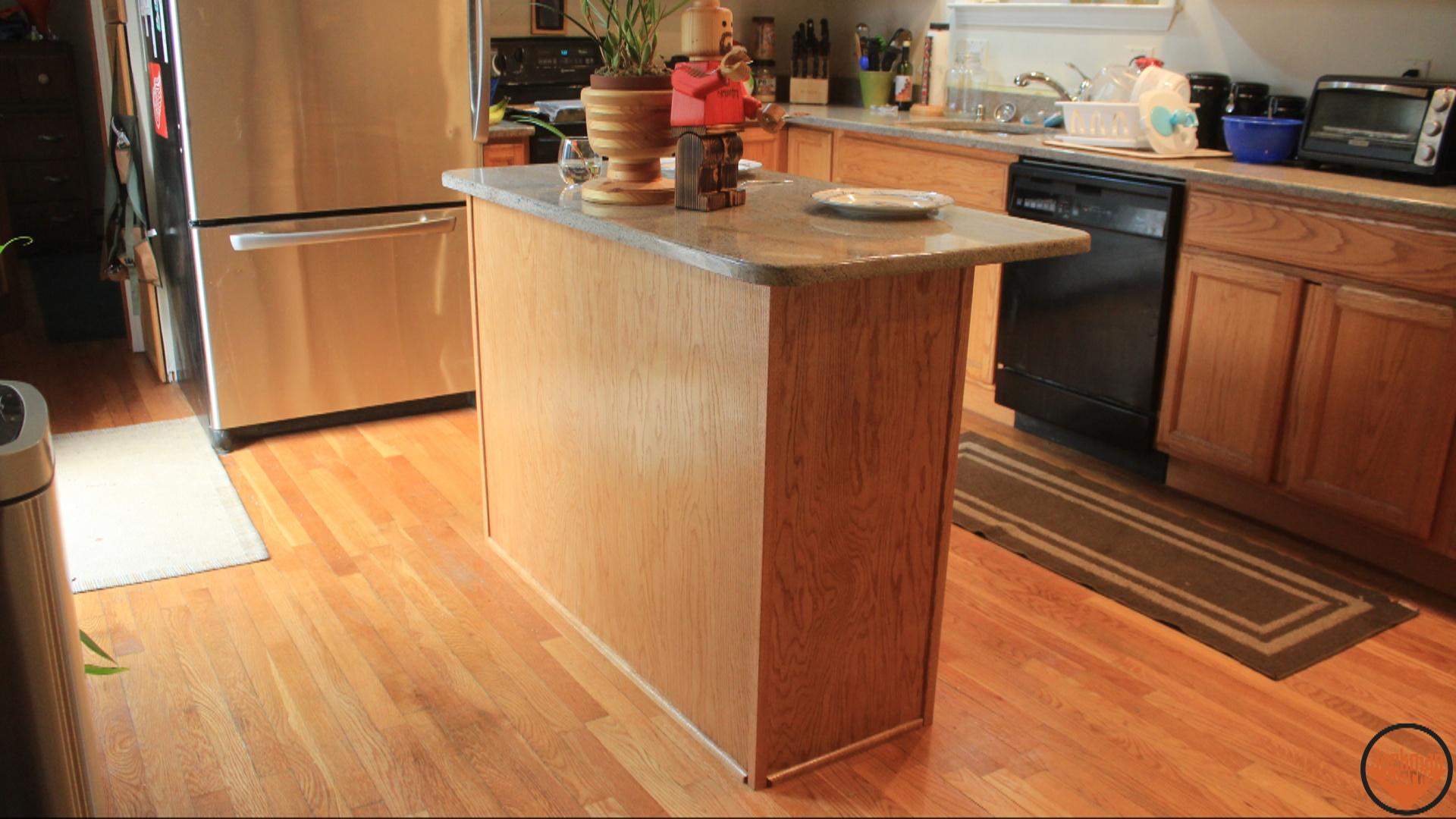 Simple Kitchen Island Build 21