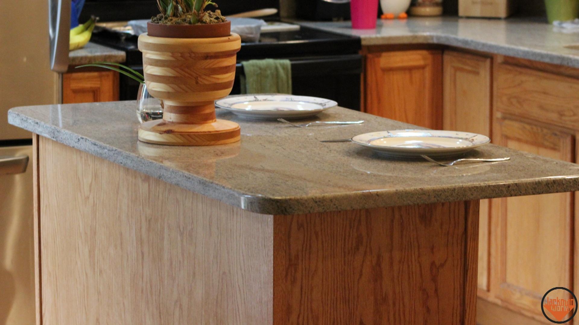 simple kitchen island build 24 | Jackman Works