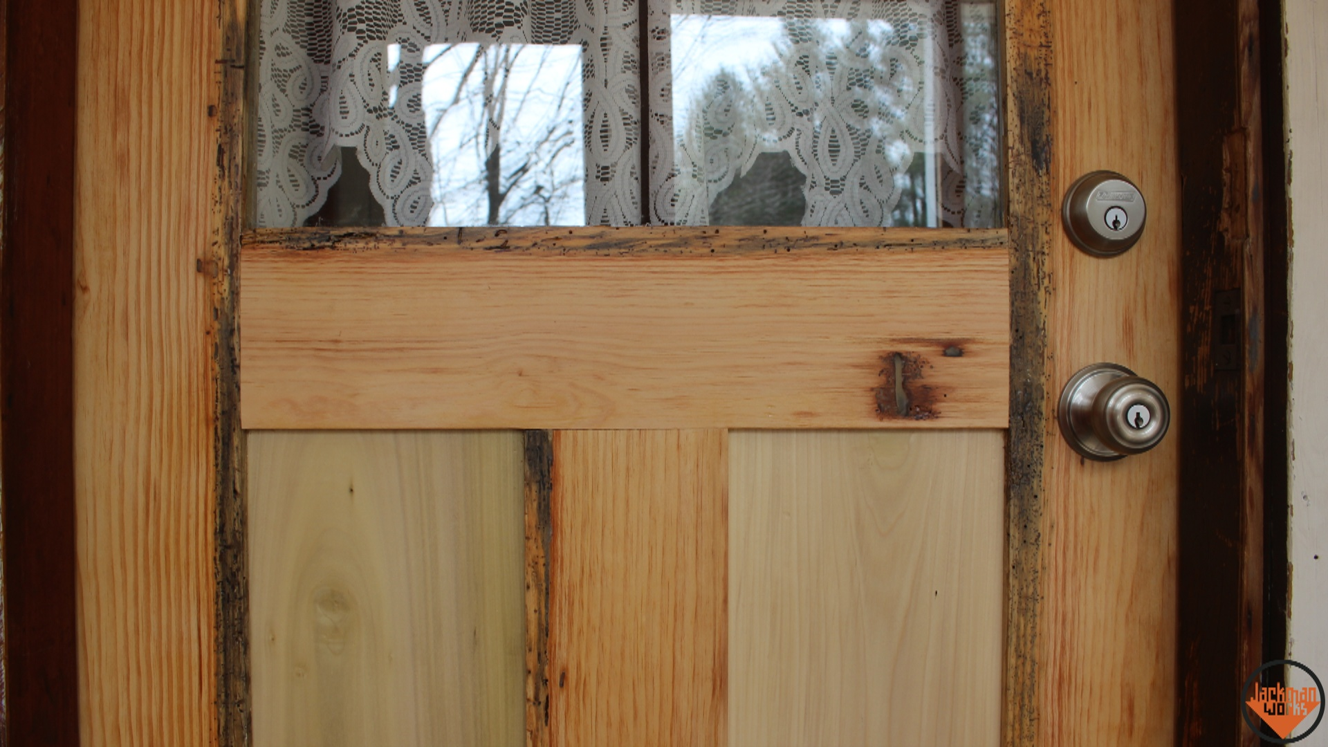 Jackman,jackman Works,jackman Carpentry,basement  Shop,woodshop,woodworking,upcycling,reclaimed,barn Wood,old Growth Pine,diy  Door,mission Style Door,how To ...