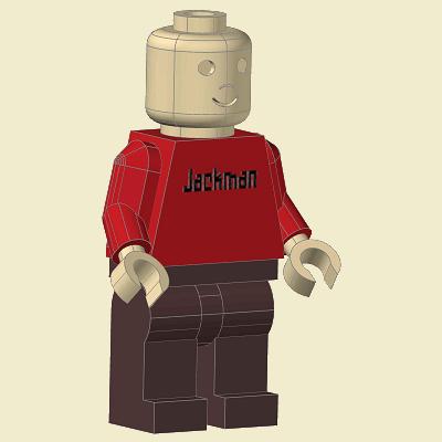 Lego Man Plans Jackman Works