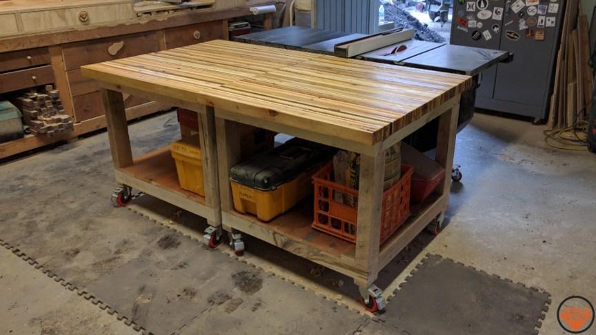 Pallet Wood Workbenches Jackman Works