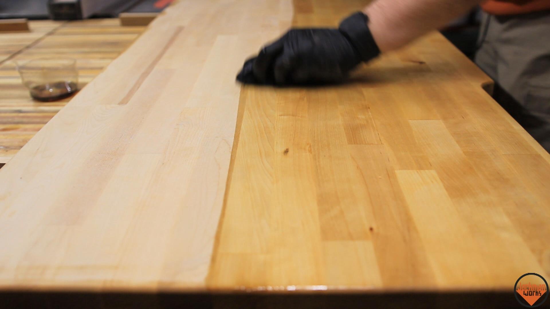 Industrial Wood and Metal Desk 17 – Jackman Works