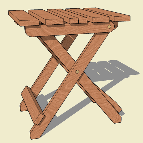Collapsible Folding Adirondack Table Plan Jackman Works