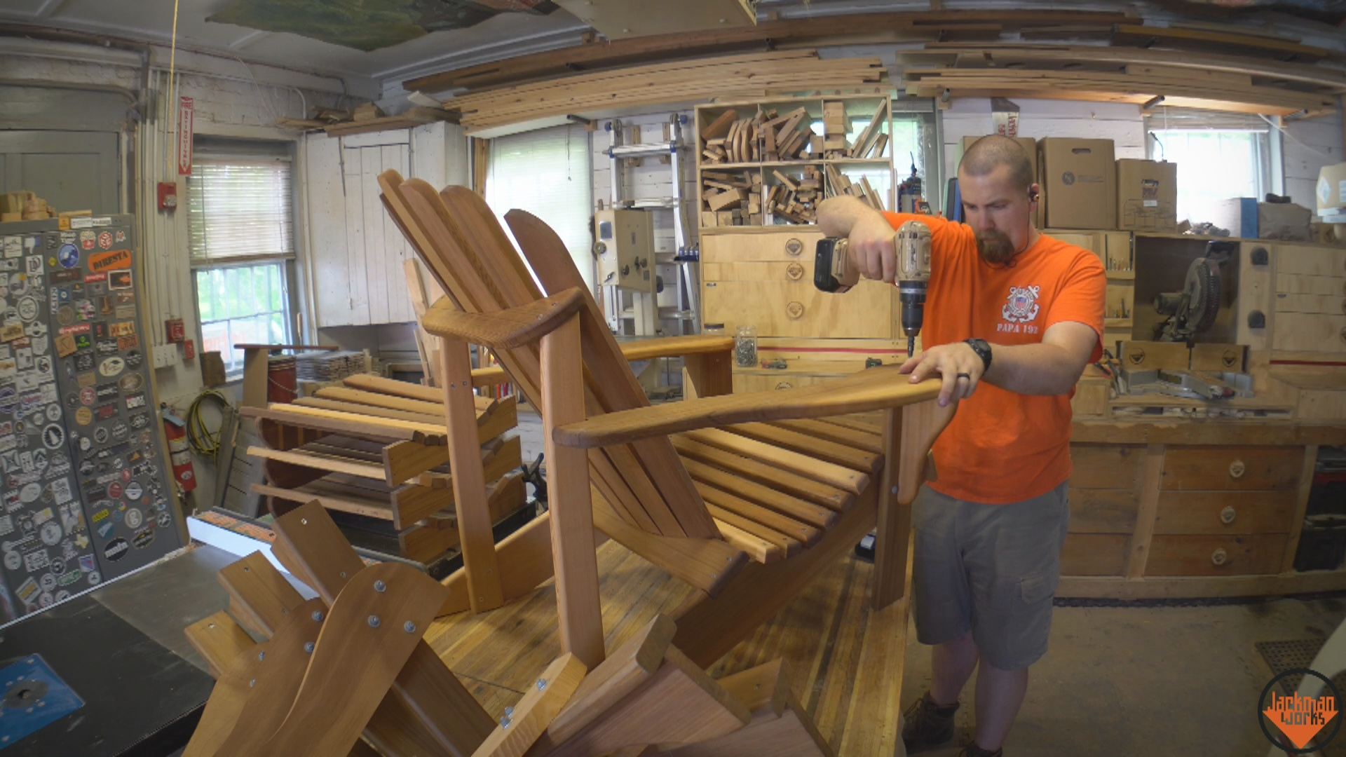 diy adirondack chair kit recaro office how to build the ultimate 29 jackman works plan an a woodworking plans cedar western