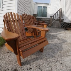 Diy Adirondack Chair Kit Upside Down For Back How To Build The Ultimate 38 Jackman Works Plan An A Woodworking Plans Cedar Western