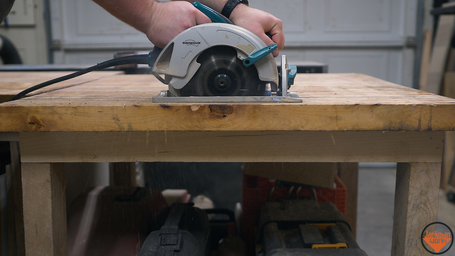 Pallet Wood Pipe Clamp Workbench Vise 2 Jackman Works