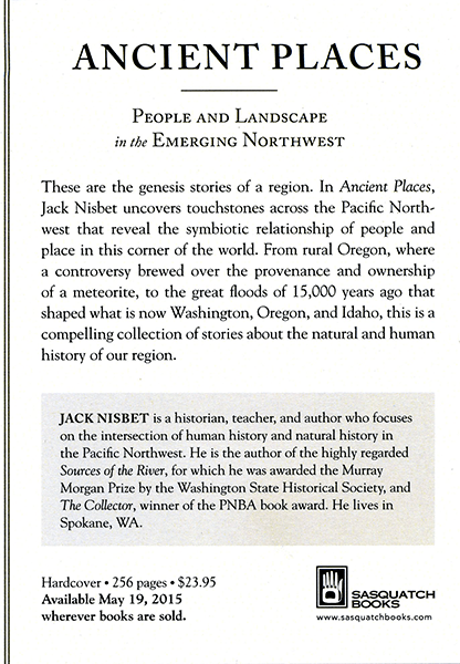 Ancient Places – People and Landscape in the Emerging Northwest (Available May 19, 2015)
