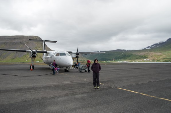 Arrived in Ísafjörður
