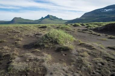 Sand dunes in Höfn