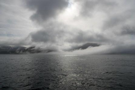 Leaving Hornvik.