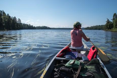 Starting at Beaverhouse Lake