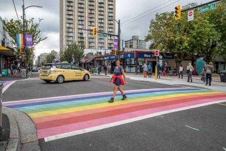 Walking on a rainbow