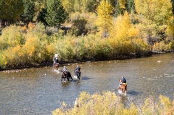 Cowboys in Grand Teton