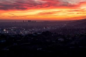 LA sunset