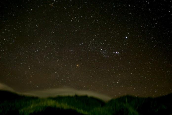 Guatapé night sky
