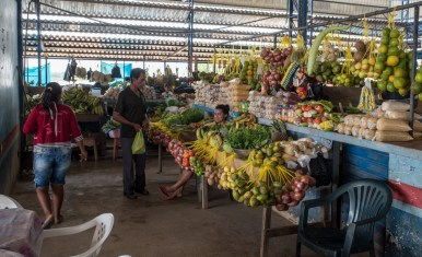 At the fruit market
