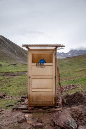 Improvised bathrooms