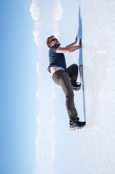 climbing James