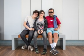 Juan Carlos and his kids