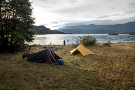 Camping at Lake Cochrane