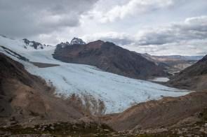 Views over the glacier