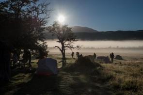 A beautiful morning in Serón