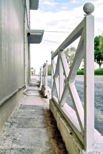 Narrow Sidewalk
