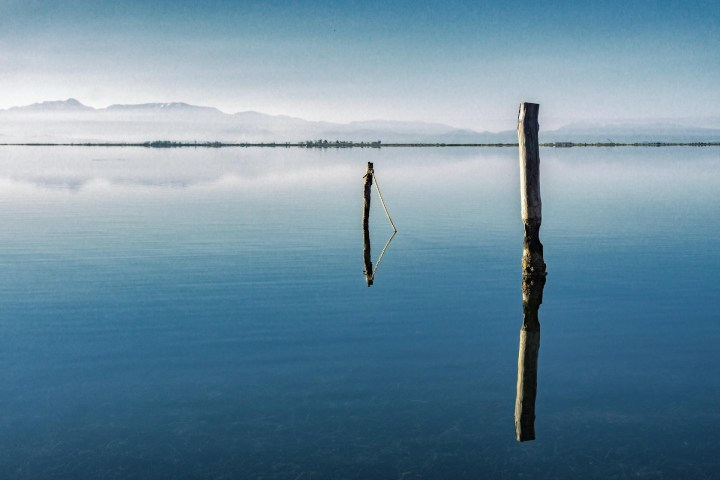 Reflected (Minimal Seascape)