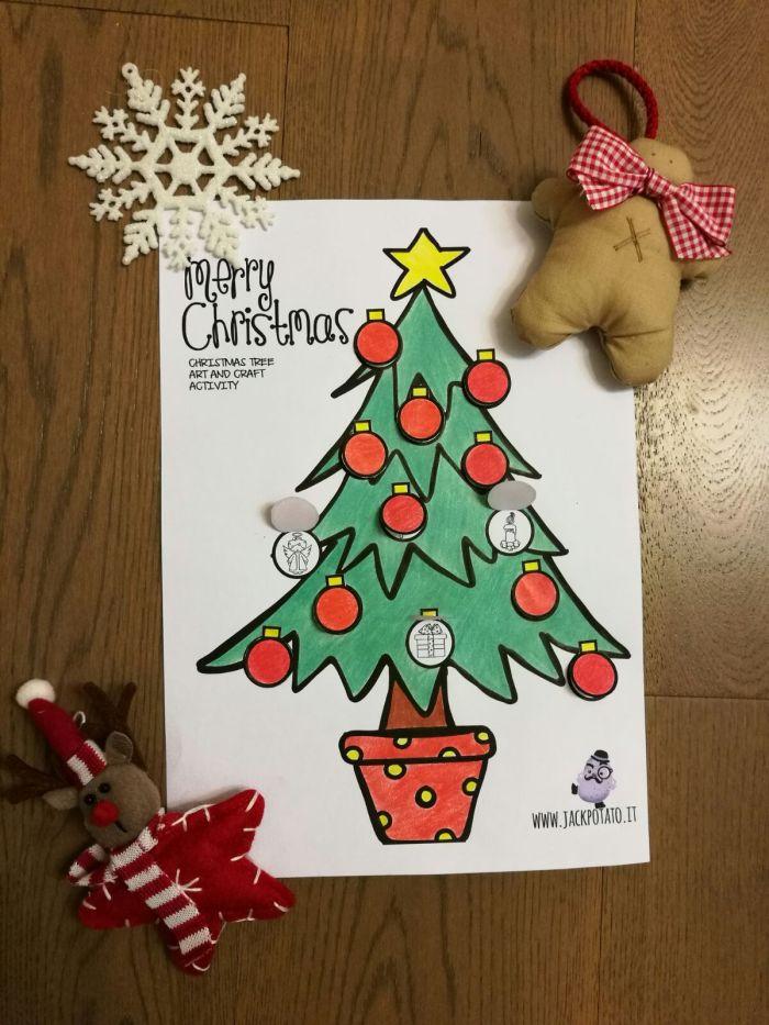 Disegni Di Natale Da Colorare Classe Quinta.Attivita Di Inglese Per Il Natale Archivi Jack Potato