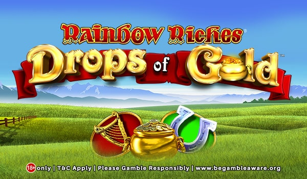 Irish-themed Rainbow Riches Drop of Gold Slots