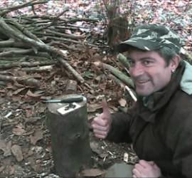bushcraft, fire, friction, course, courses, Kent