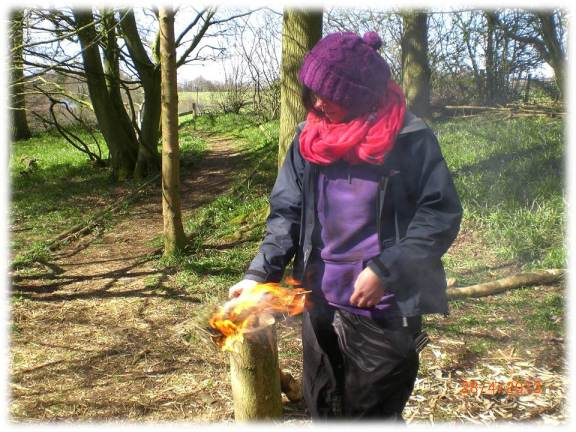 Fire Lighting | bushcraft training