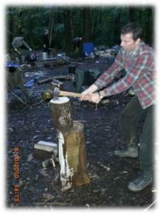 bushcraft   axe