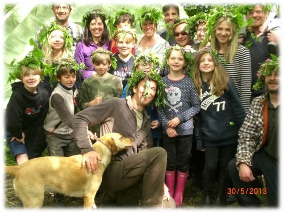 family bushcraft   south east   Kent