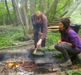 wild & weedy curry   foraging   wild foods   bushcraft   Kent   south east   London
