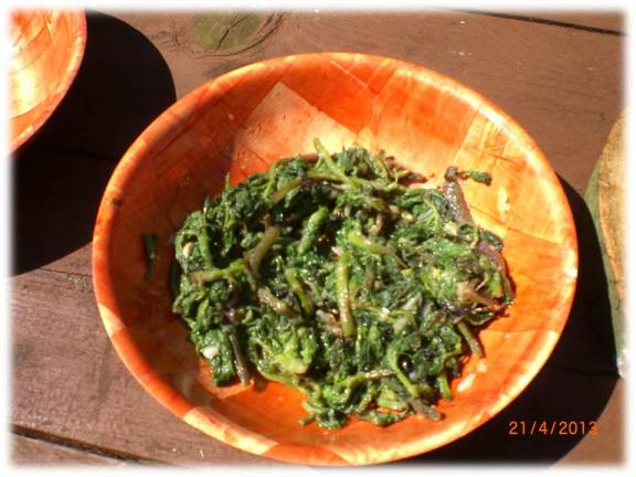 chargrilled hogweed