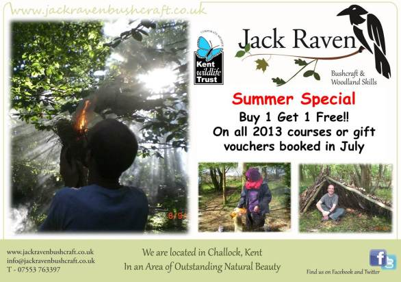 summer special | bushcraft | south east | Kent