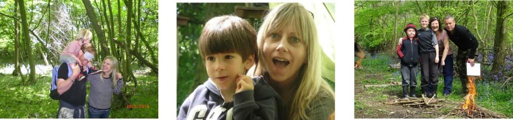 Family Bushcraft Courses | Woodland Holidays | Parent and Child Bushcraft | South East | Kent