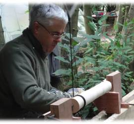 pole lathe | green woodworking | bodging | south east | Kent