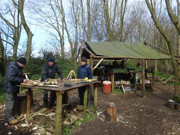 blacksmithing | bodging | south east | Kent