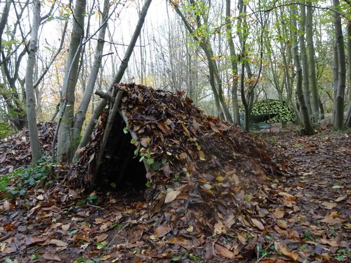 1 person debris shelter