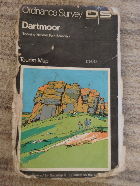 Map of dartmoor
