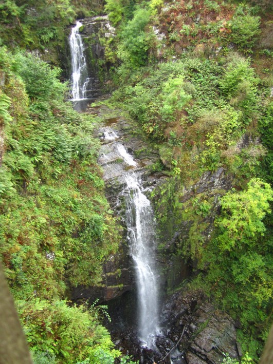 Waterfall on the Isle of Arran