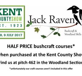 bushcraft at Kent County Show