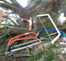 how to use a bow saw | bow saws | bushcraft | Kent | south east | London