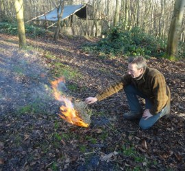 tinder bundles | bushcraft | Kent | south east | London