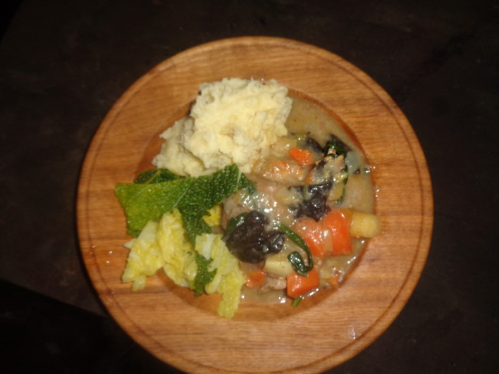 rabbit casserole | wild foods | foraging | Kent | London | south east